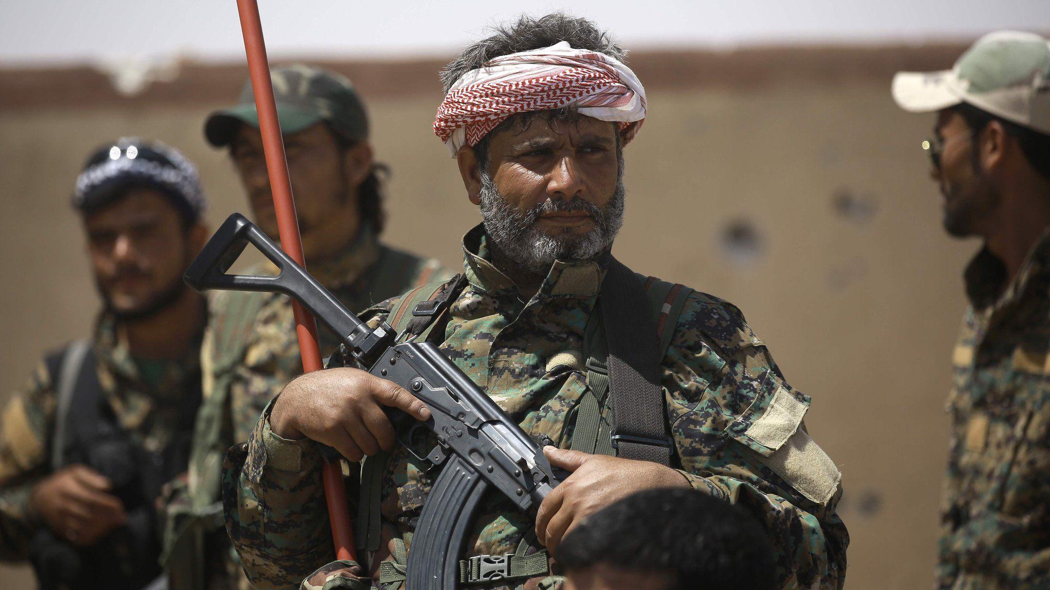 A man wearing a military uniform
